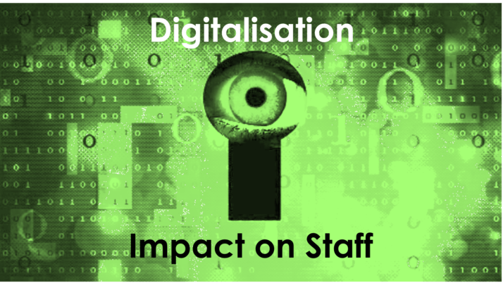 Digitalisation 2.5 – Impact on Staff (HR & People)