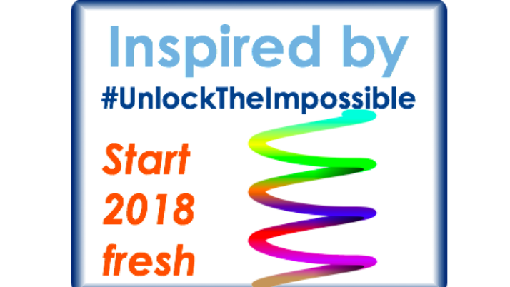 2018: Let's start with an inspirational & engaging event!