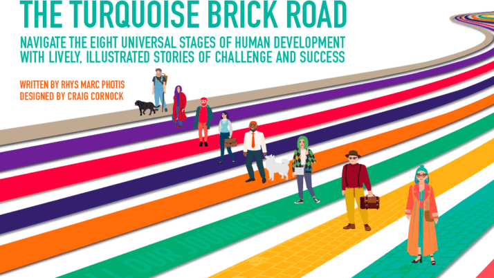 Social Book Launch in Oct.'2020: The Turquoise Brick Road