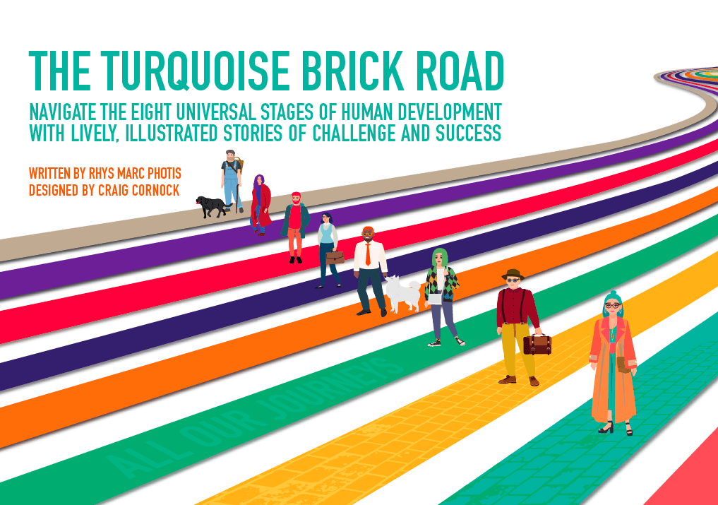 Social Book Launch in Nov.'2020: The Turquoise Brick Road